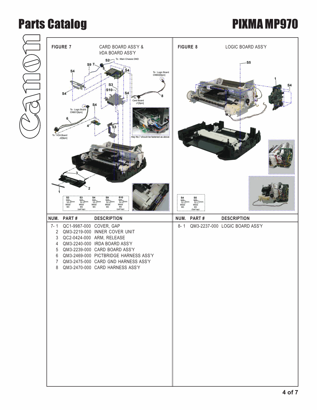 Canon PIXMA MP970 Parts and Service Manual-6
